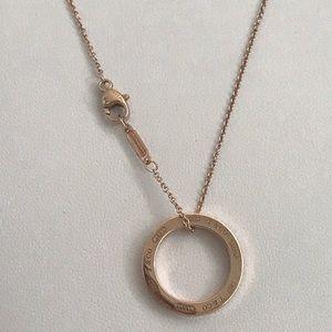 💖Rubedo Rose Gold 1837 Circle pendant  Necklace💖